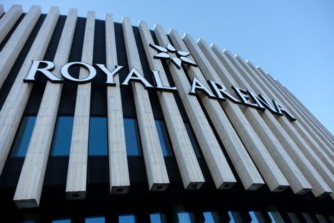 Kopenhagen hat eine neue Halle: die Royal Arena sieht schick aus und ist im Süden von Kopenhagen
