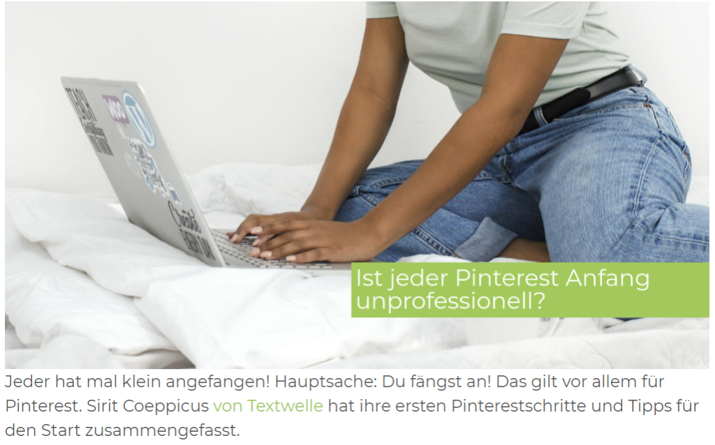 Pinterest geht professionell und unprofesionnel