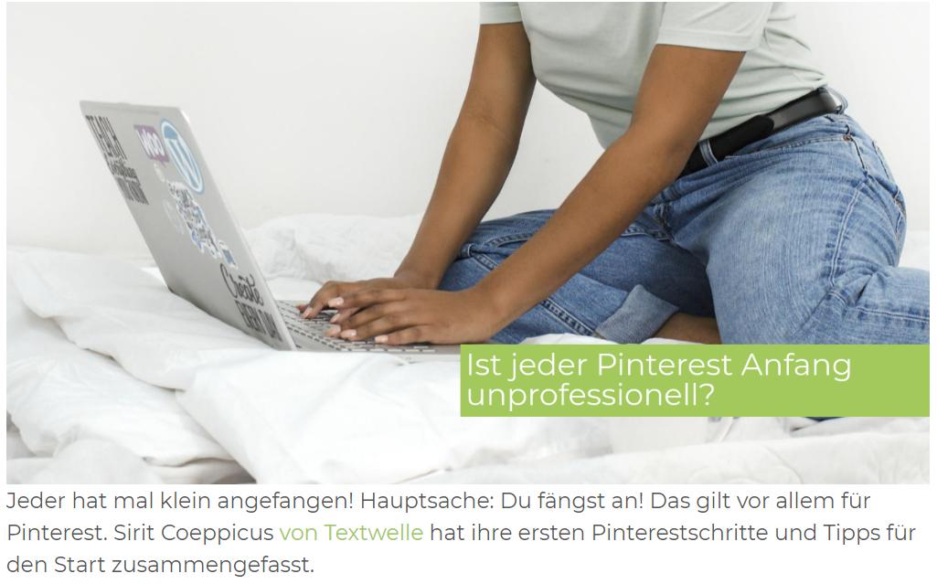 Pinterest screenshot gastbeitrag - Gastartikel schreiben
