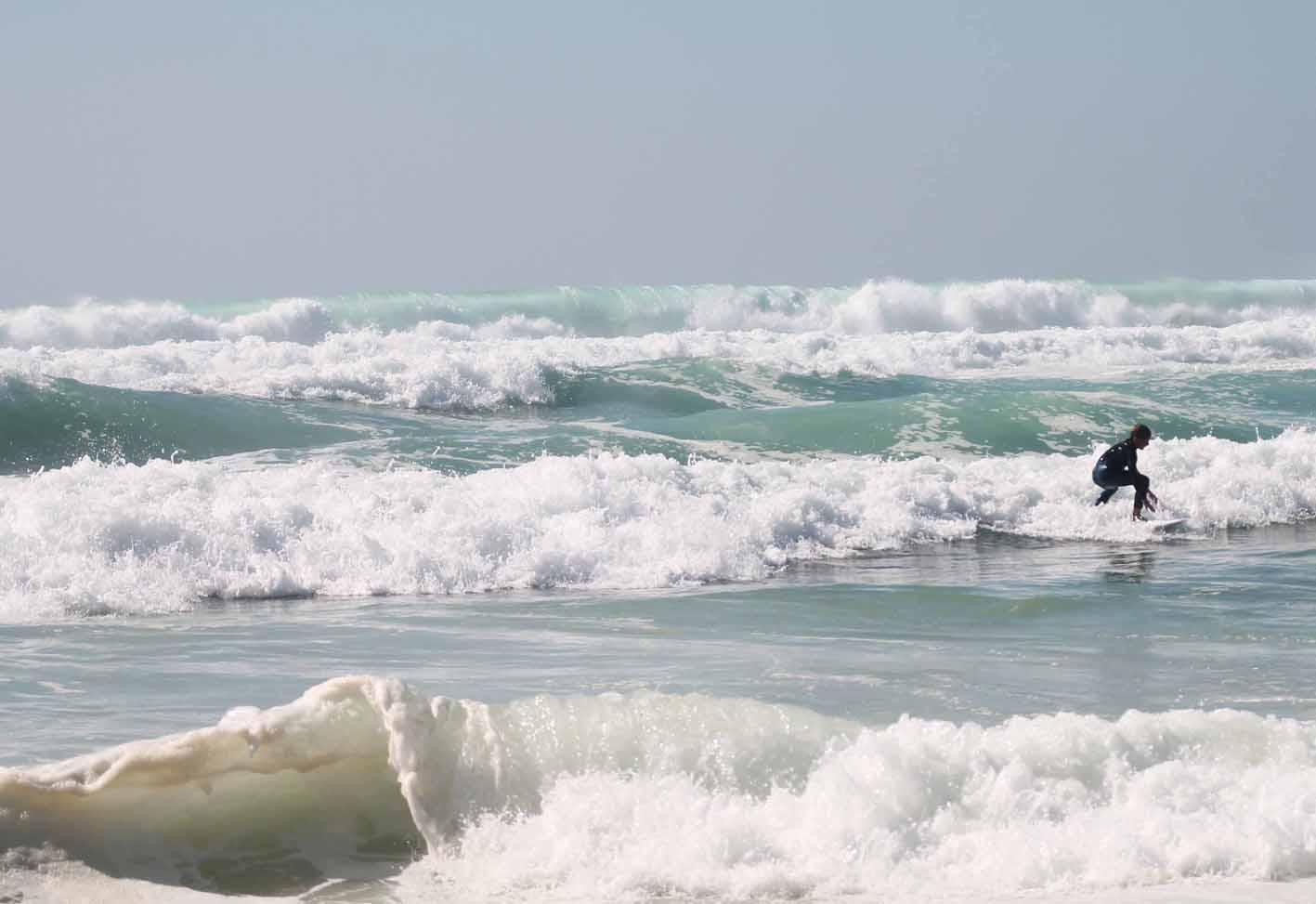 Surfen lernen in Europa geht in verschiedenen Ländern.