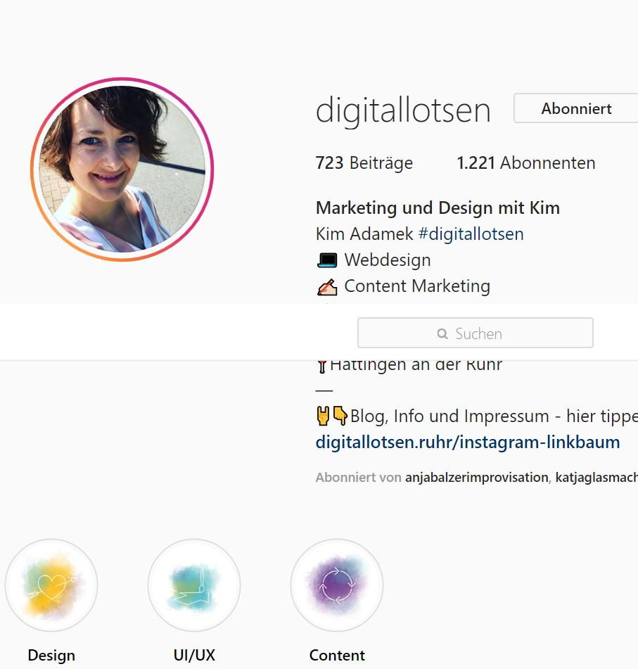 Instagram ist ein gutes Werkzeug für Dein Business