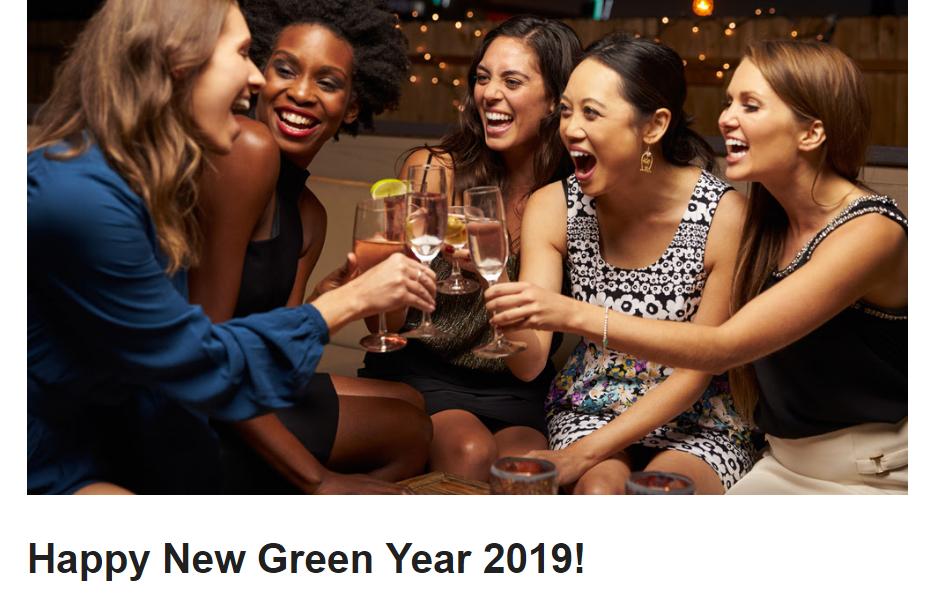 Nachhaltigkeit ist in 2019 ein großes Thema!