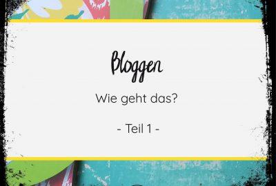 Bloggen geht ganz einfach! Lies mein eBook und Du kannst beginnen!