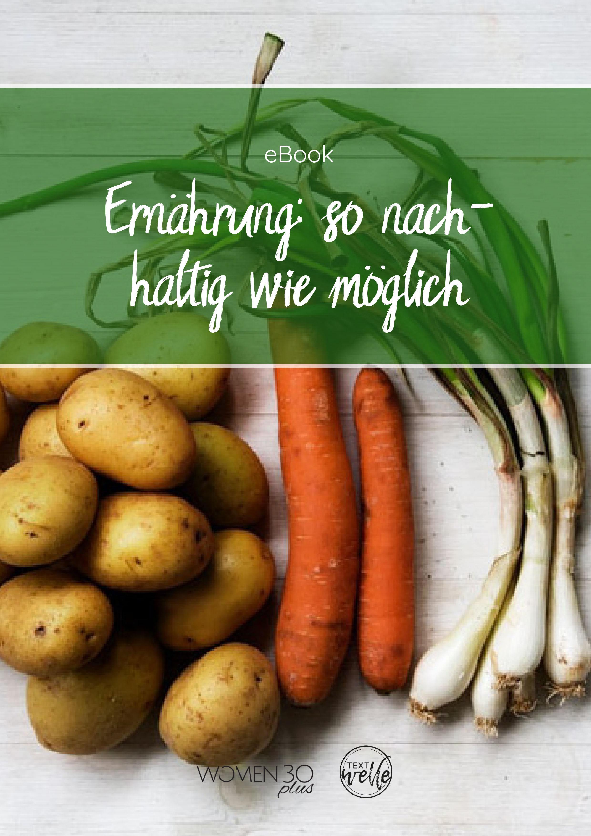 Nachhaltigkeit fängt beim Einkauf an und hört in Deinem Magen auf