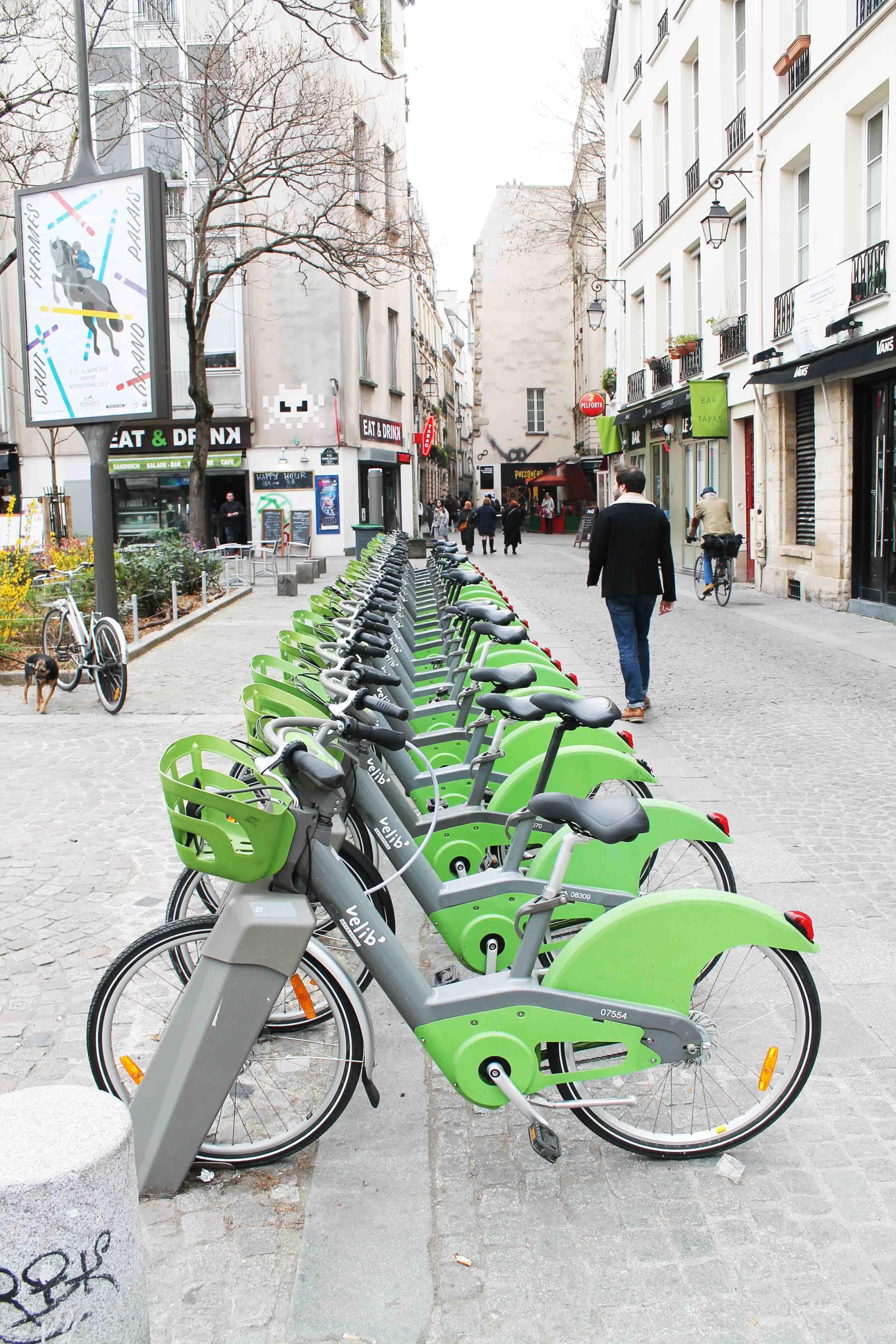 Elektronmobilität ist in der Hauptstadt Frankreichs schon längst etabliert!
