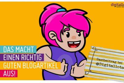 Bloggen und Social Media sind Geschwister