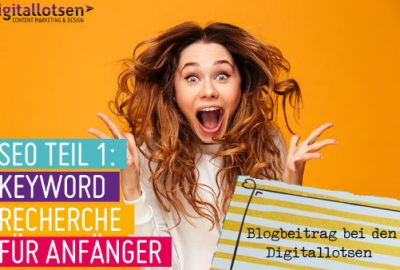 Keywords in deinem Blogartikel - digitallotsen