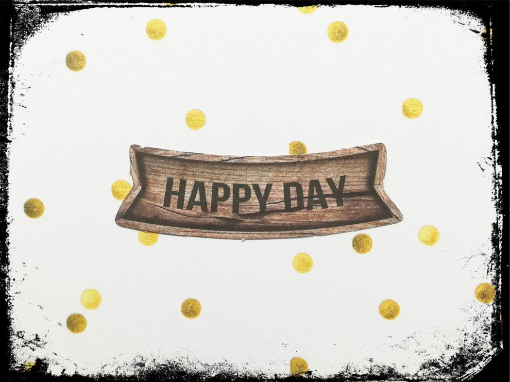 Egoismus sorgt für einen happy day