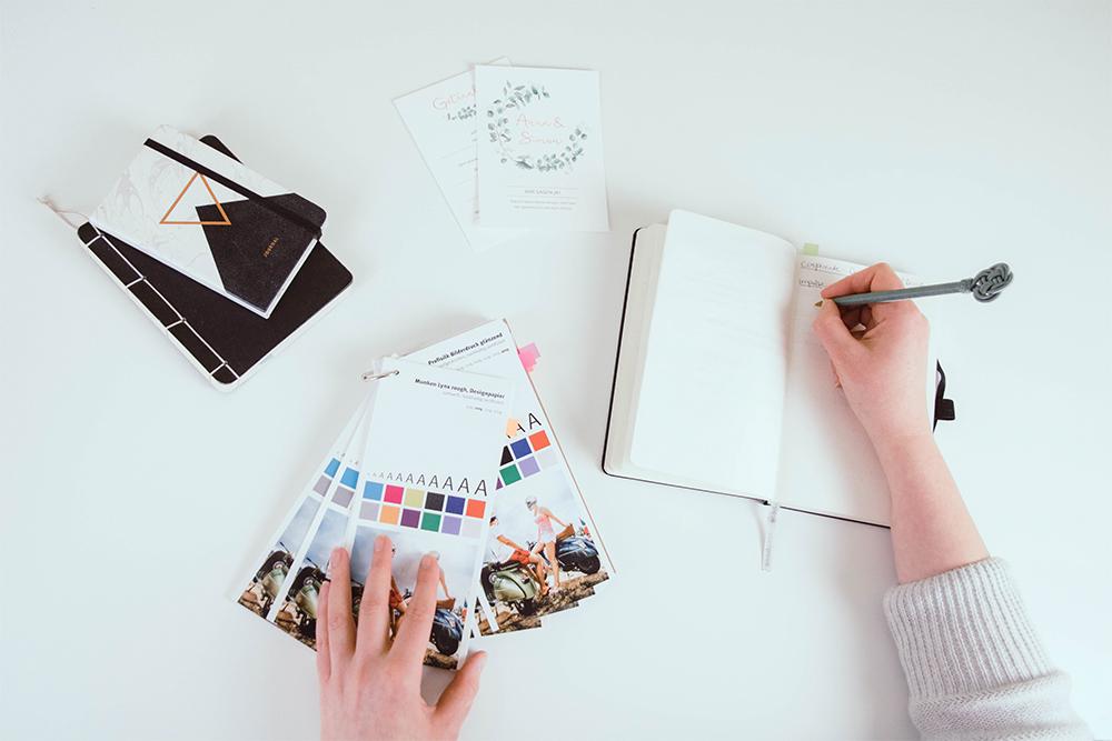 seikritt design design workspace - Corporate Design: Wie ein individueller, visueller Markenauftritt dein Business unterstützt (#18 Nathalie Seikritt)