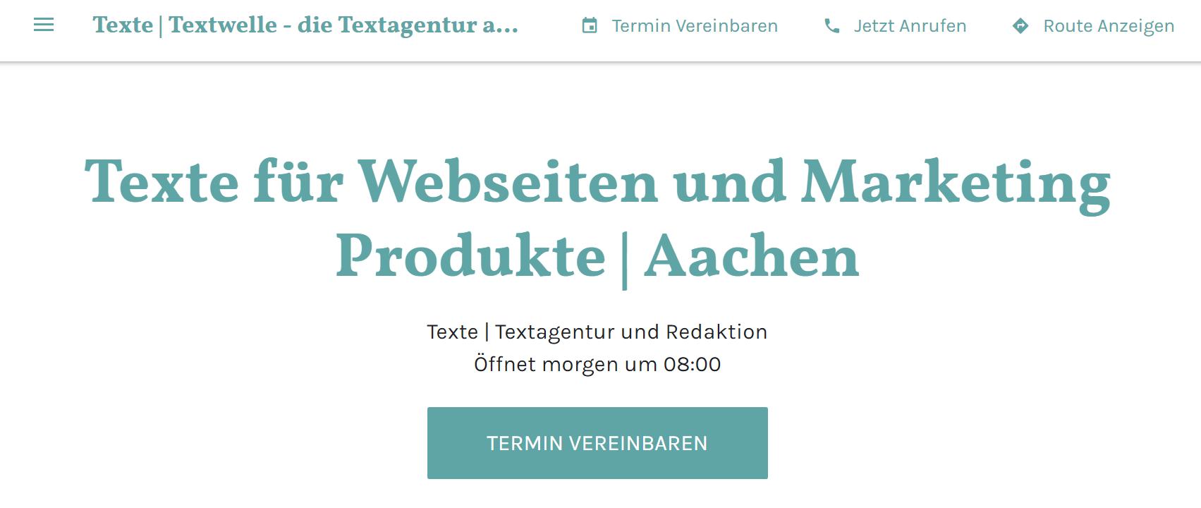 GmB textwelle screen - Empfehlungen als digitales Sprungbrett