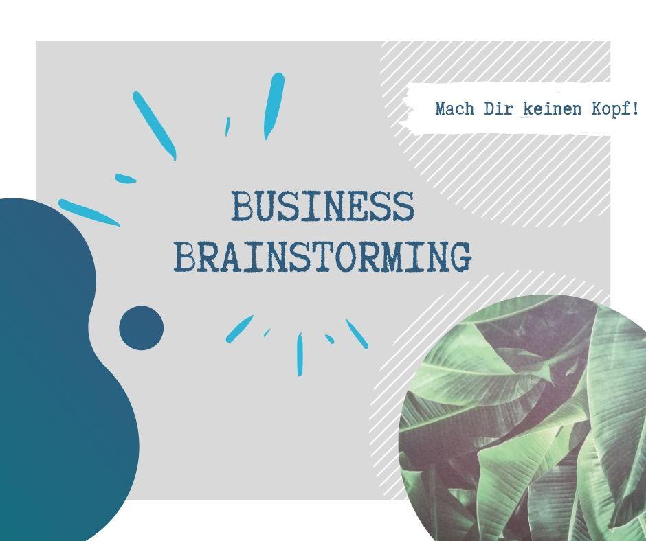 Business Brainstorming 1 - Business Brainstorming