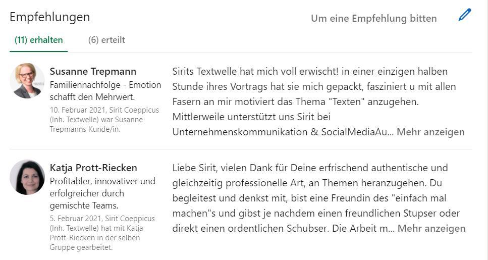 linkedIn screen 1 - LinkedIn - Hype oder Netzwerk auf der Überholspur? (Teil 1)