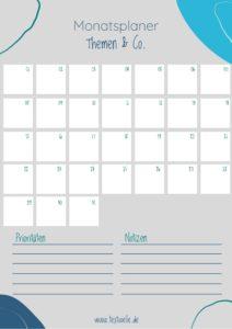 Textwelle Monatsplaner 1 212x300 - Für Dich & Newsletter